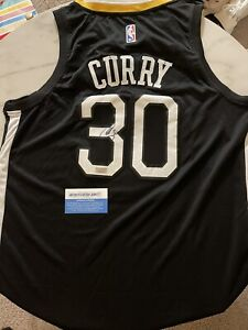 """Steph Curry Signed Autographed NBA Jersey WITH CERTIFIED COA! """"THE TOWN"""" #30"""