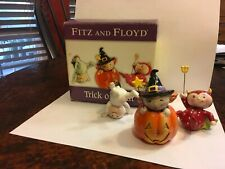New ListingFitz and Floyd Halloween Trick or Treat Tumblers 2005 Tumbling Trio