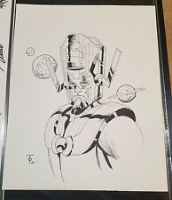 Original Art Sketch Commission by Marcus To - Galactus 11x14
