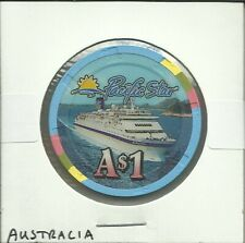 $1 CRUISE LINES CHIP-PACIFIC SUN