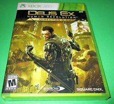 Deus Ex: Human Revolution - Director's Cut Microsoft Xbox 360 *Sealed-Free Ship!