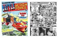 Battle, Battle Picture, Battle Action Force On 5 PC-DVDs  Over 1600 Issues!