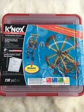 K'nex Stem Toy Introduction To Simple Machines: Gears. 198 Pcs.