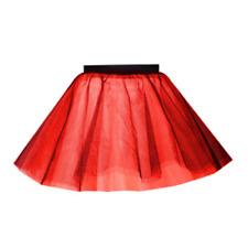Kids HALLOWEEN 3 Layer Plain TUTU FANCY DRESS Witches COSTUME TU-TU 12 INCH