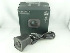 Logitech Streamcam Webcam für Live Streaming 1080p - Ersatzteil / Defekt - D2075