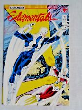 Elementals Vol 1 No. 15 July 1987 Comico The Comic Company 1st Printing NM (9.4)