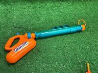 vintage Kenner Nerf Hydro Bazooka water gun Orange Teal WORKING Squirt Ball