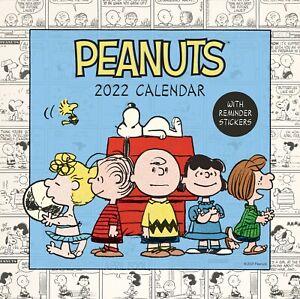 Portico Designs - Peanuts Square Family Calendar 2022 (C22100)