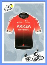 Stickers PANINI TOUR DE FRANCE 2021 #74 Kit / Maillot ARKEA - SAMSIC Team