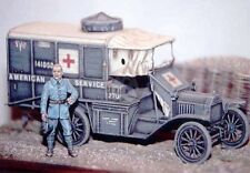 Resicast 1/35 Ford T Ambulance 1917 WWI (Full kit w/Photo-etch & Decals) 351118
