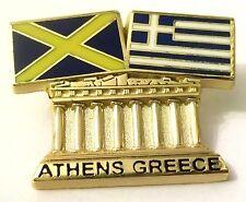 Pin Spilla Olimpiadi Athens 2004 Greece/Mercia Flags