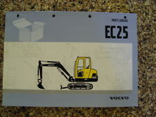Volvo EC15 PARTS MANUAL CATALOG BOOK MINI-EXCAVATOR HYDRAULIC TYPE265 6154410002