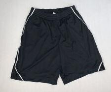 Nike Athletic Mesh Shorts Size Men's L Black Pockets