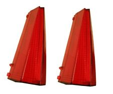 1969 Cadillac Deville Calais Fleetwood Tail Light Lens Set (Pair) De Ville