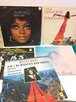 Job Lot Bundle VINYL LP RECORDS Various Rare Five Albums Diana Ross