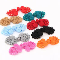 10Pcs Chinese Frog Closure Buttons Fasteners DIY Sewing Cheongsam  Sewing Craft