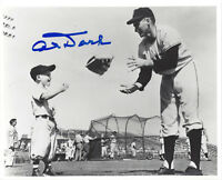 1950-56 GIANTS Al Dark signed photo 8x10 AUTO Autographed New York