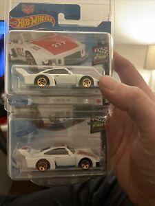 HOT WHEELS Magnus Walker Porsche 935 Urban Outlaw Short/long Cards Errors RARE