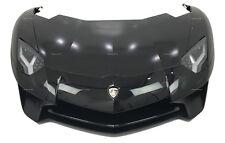 Lamborghini Aventador LP750 SV Front Bonnet Hood Bumper Wing Fender Headlight