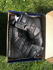 Bates Mens Spyder Falcon Black Leather Police Security Events 8 Inch Boots Uk 10