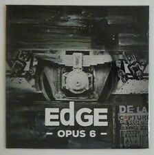 "EDGE : OPUS 6 ""THE CODE"" (13 TITRES) ♦ CD ALBUM PROMO NEUF ♦"