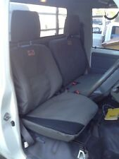 79 Series Toyota Land Cruiser Workmate ute Seat Cover - Complete Set - Grey