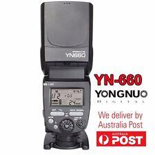 Yongnuo YN660 2.4G Flash Speedlite Master Slave for Canon YN560-TX YN560 IV AU