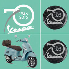 KODASKIN 3D Real Carbon Stcker Decal Fit for Vespa 70th anniversary