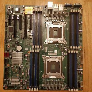 GIGABYTE GA-7PESH2 Rev1.0 Intel LGA2011 E-ATX Server Motherboard LSI2008 2x10GbE