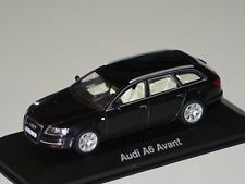 Audi A6 Avant 2004 schwarz 1:43  Minichamps/Audi 5010406233 neu & OVP