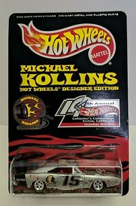 Hot Wheels Michael Kollins 14th Annual Convention DODGE CHARGER DAYTONA 1:64 MIP