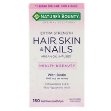 Nature's Bounty, Optimal Solutions, Extra Strength Hair, Skin & Nails, 150 Rapid