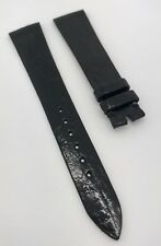 Authentic Vintage Audemars Piguet Black Alligator 18mm Watch Strap New OEM NOS