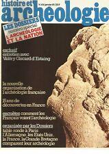 HISTOIRE ET ARCHEOLOGIE N°49 - L'ARCHEOLOGIE ET LA NATION