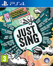 Just Sing PS4 Playstation 4 IT IMPORT UBISOFT