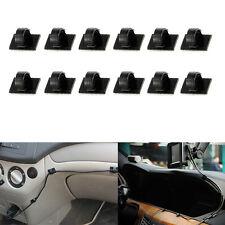 30Pcs Car Wire Tie Self-adhesive Rectangle Cord Cable Holder Mount Clip C Pro AU