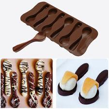 Silikon Löffel Form Design Schimmel Schokolade DIY Kuchen Backen Pfanne Mould