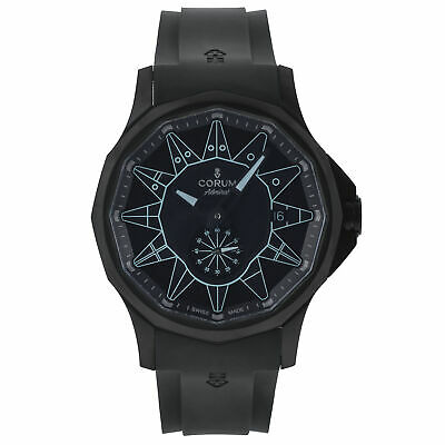Corum Admiral 42 Pvd Coated Steel Automatic Men's Watch A395/04004, Msrp: $5,200
