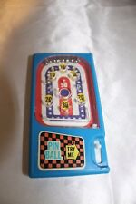 Vintage Hand Held Pinball Game Red White & Blue Made in Hong Kong 1970s