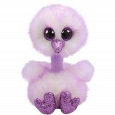 Ty Beanie Boos 36465 Kenya Lavender Ostrich Boo Medium
