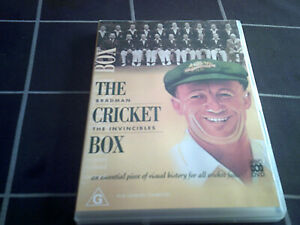 The Cricket Box BRADMAN & THE INVINCIBLES region 4 DVD