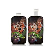 Housse Coque Etui Pochette pour Sony Xperia M / Z1 Compact / Xperia L avec motif