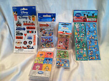 Disney Characters 6 Pack Acrylic Magnets And 4 Packs Misc Stickers Disney Store