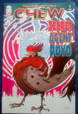 CHEW SECRET AGENT POYO #1 Barack Obama Cameo Appearance FN