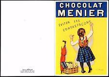 carte postale publicitaire . chocolat Menier . éditions Clouet . Dijon