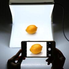 Photography Photo Studio Backdrop LED Portable Light Room Cube Tent Boxes New