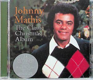 Johnny Mathis -The Classic Christmas Album CD (NEW) Best Of Festive Songs