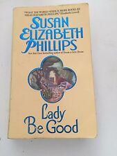 Susan Elizabeth Phillips  Lady Be Good 1999 Paperback Novel