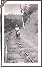 VINTAGE PHOTOGRAPH 1918 MUIR WOODS MILL VALLEY SAN FRANCISCO CALIFORNIA PHOTO