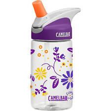 "Camelbak Kids Eddy Girls Anti-Spill Water/Drinks Hydration Bottle ""Daisy Chain"""